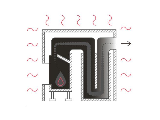 Popis užívání akumulačního krbu