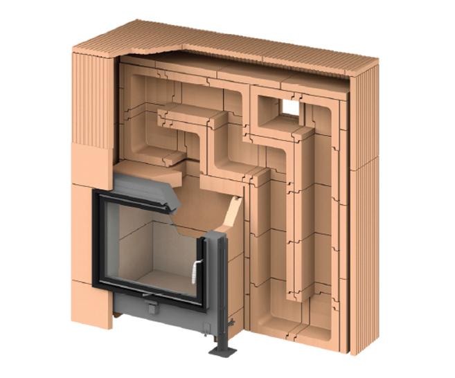 Snadná opracovatelnost, vysoká schopnost akumulace tepla